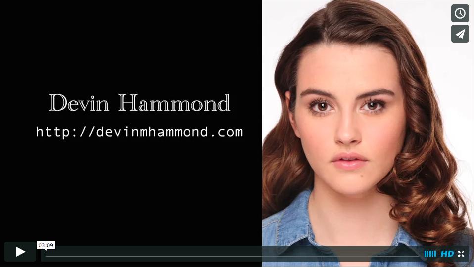 Devin Hammond Demo Reel