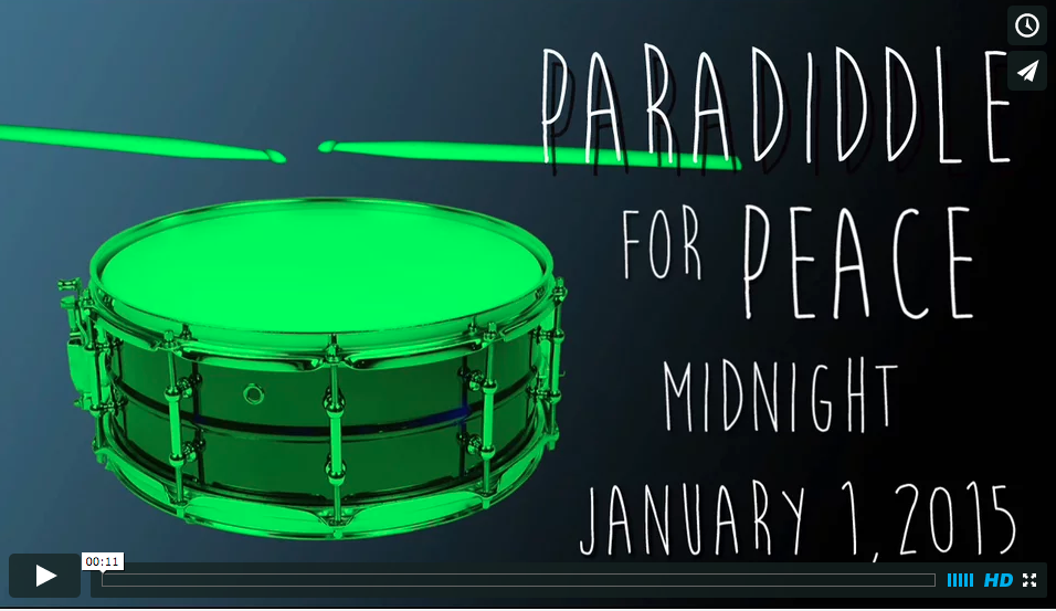 PARADIDDLE FOR PEACE-SOCIAL CAMPAIGN