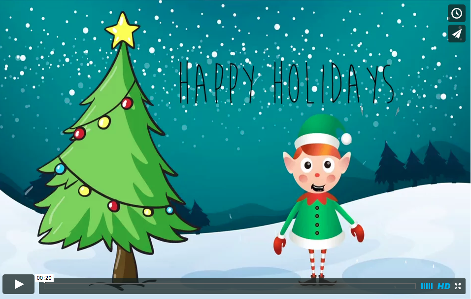 ANIMATED HOLIDAY CARD